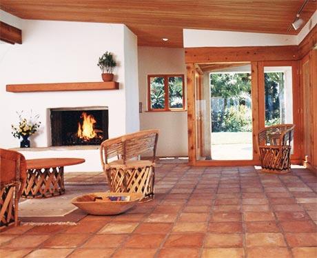 Keeping Up Saltillo Tile Floors
