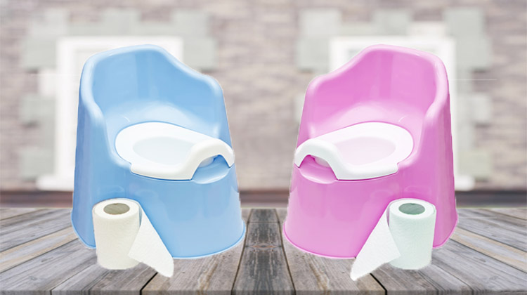 Dry your potty chair