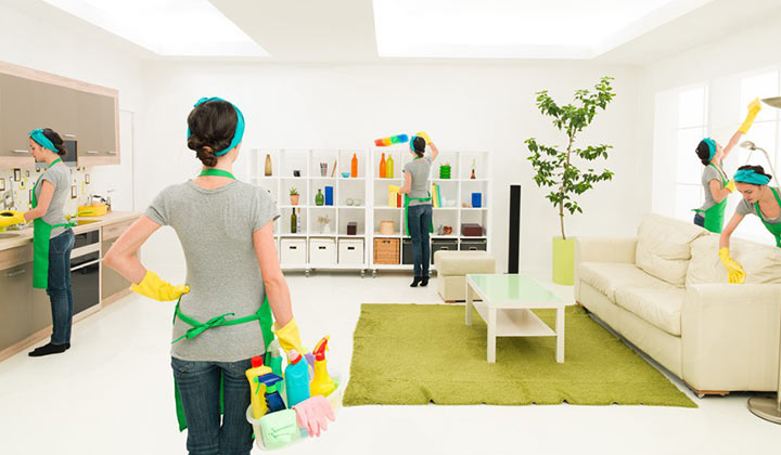 A Good Cleaning Method: FIFO and housecleaners