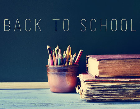 Back to School Month as Summer Ends