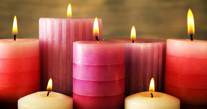 How to Clean Candles and lighten up your home