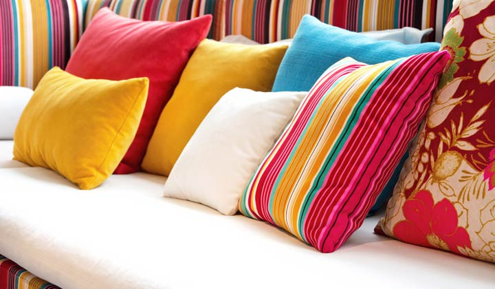 How to Clean Decorative Pillows and fabric