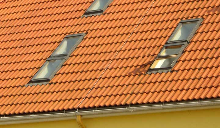 How to Clean Hard to Reach Skylights from outside
