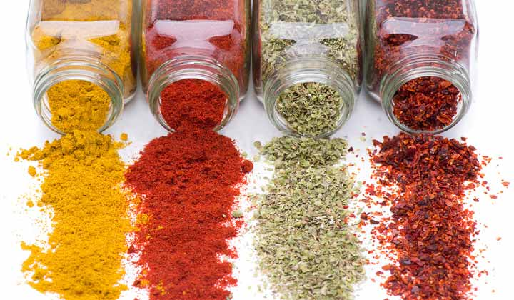 Things Needed to Clean Spice Jars