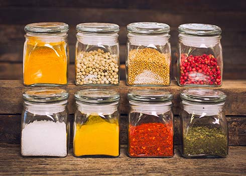 3 Easy Steps to Clean & Organize Spice Jars