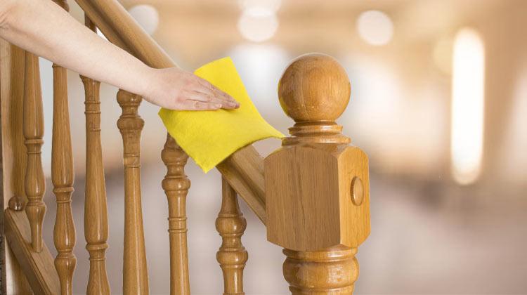 How to Clean Staircase Railings with care