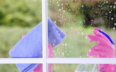 Cleaning Your Windows to a Sparkle — The Right Way!