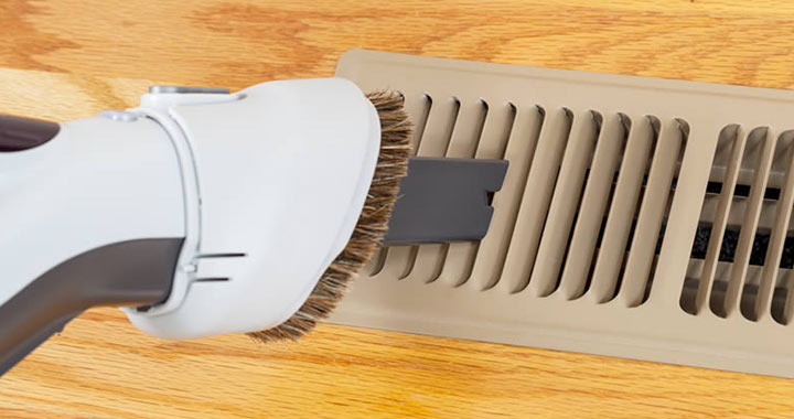 How to Clean a Register Vent with a vacuum