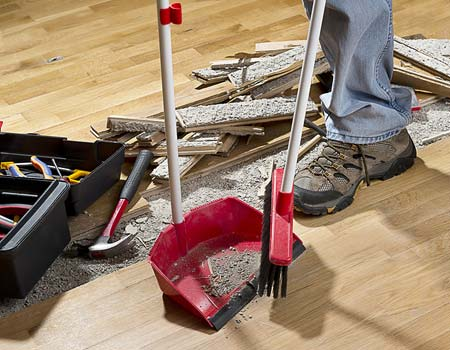 How to Cleanup After Construction