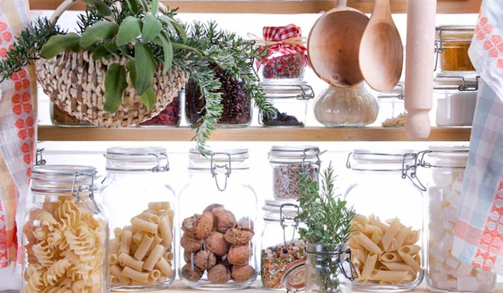 How to Organize Your Dry Goods in your pantry