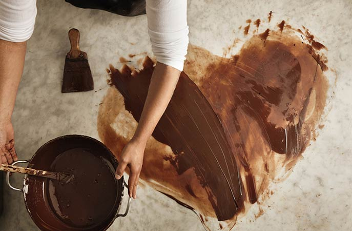 How to Remove Chocolate from Surfaces