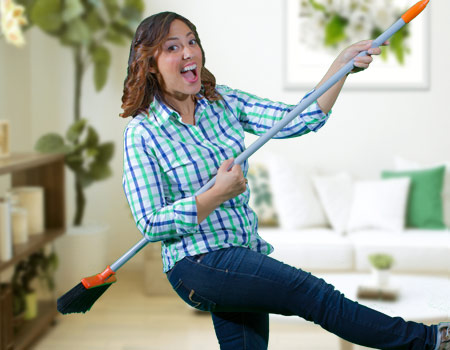 Important for Your Health: Stress-Free Housecleaning