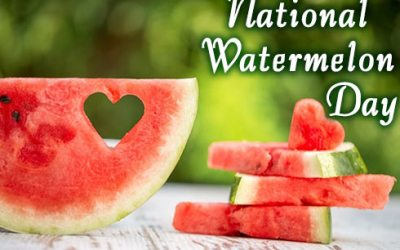 Enjoy with Your Family National Watermelon Day