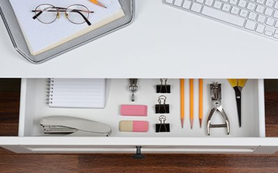 Great Organizing Ideas for Home Office Drawers