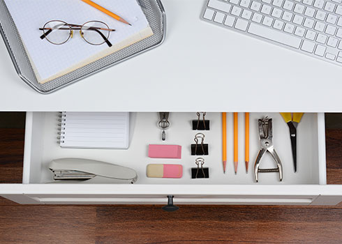 Organizing Home Office Drawers Tips