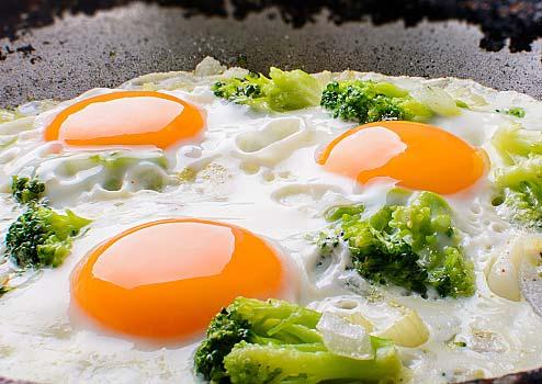 Sidewalk Egg Frying Day