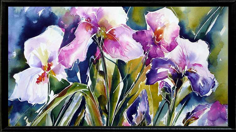 Taking Care of Your watercolor painting