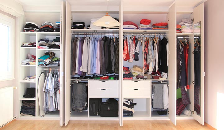 Tips to Increase Closet Space and purge unwanted clothes