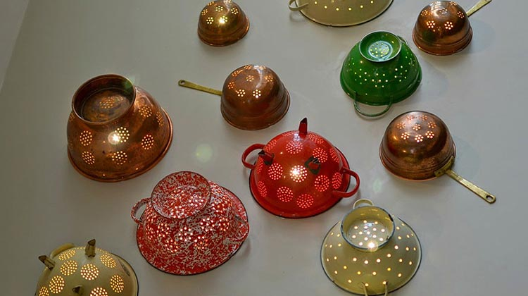 Bring New Life to Kitchen Colanders & Repurpose Them!