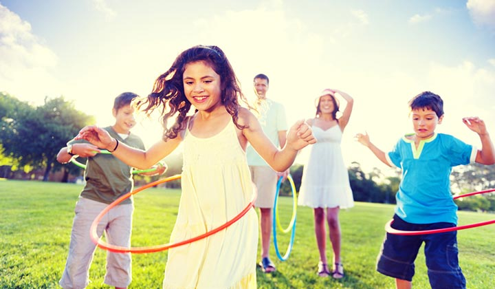 Take small steps and Exercise for Childhood Obesity
