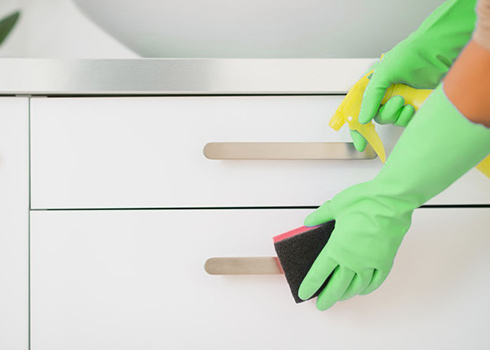 Germy Spots in Your Home? — Learn This Sanitizing Process