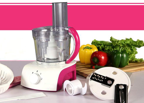 Food Processor: Quick & Easy Cleanup