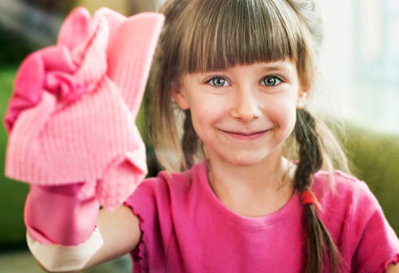 House Cleaning for Kids