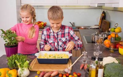 Kids Take Over the Kitchen Day—Never Too Soon!