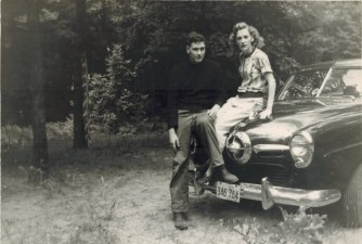 I just love these old photos of my parents. They had no idea what adventures lay ahead.