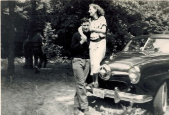 Summer of 1950. My parents had met in February and would become engaged in November.