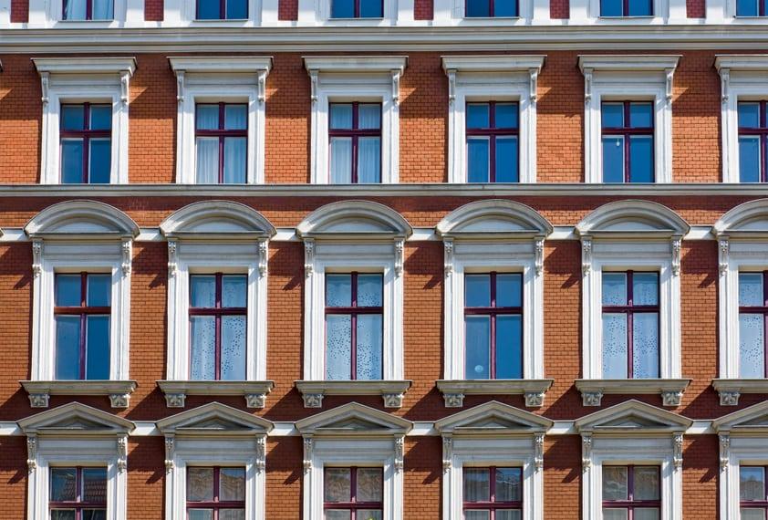 Bild von Altbau symbolisiert Wohnraummietrecht