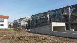 Neubau von zwei Mehrfamilienhäusern mit Tiefgarage in Mindelheim