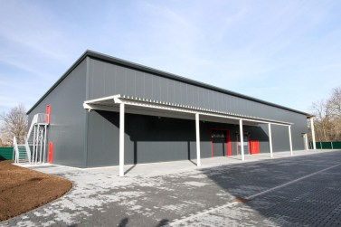 Neubau einer KFZ-Lagerhalle in Türkheim