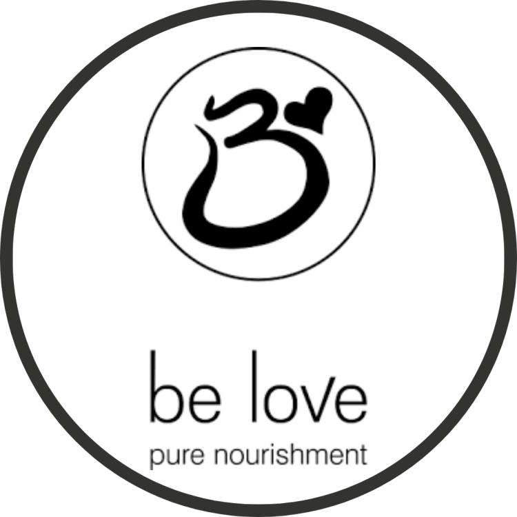 Logo for be love restaurant