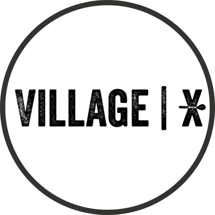Logo for the village xpress restaurant