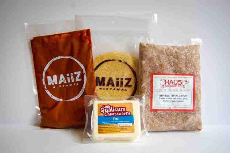 Enmolada meal kit