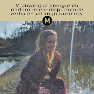 ondernemen met vrouwelijke energie