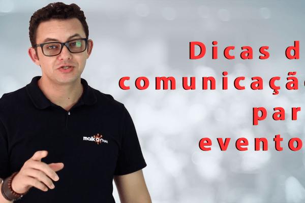 Dicas de comunicação para eventos