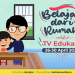 Panduan BDR di TV Edukasi Tanggal 26 - 30 April 2021