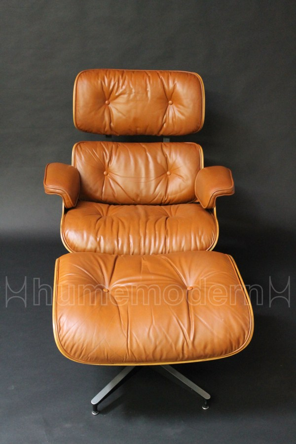 eames lounge and ottoman photo
