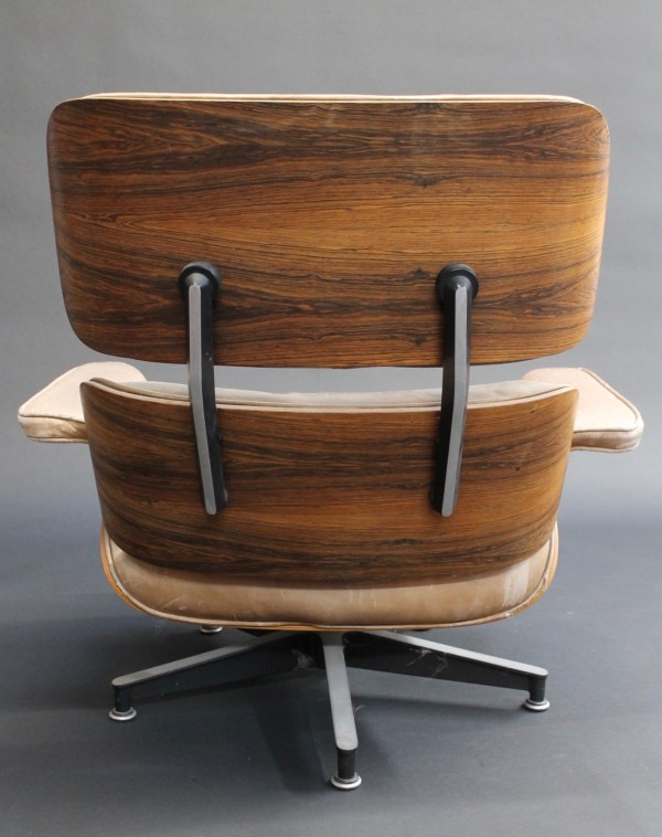 eames lounge chair back view photo