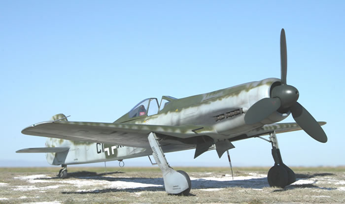 Pacific Coast Models 132 Scale Focke Wulf Ta 152 C By Ian Robertson