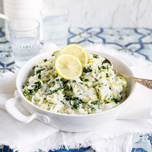 Mandy's Spinach Rice