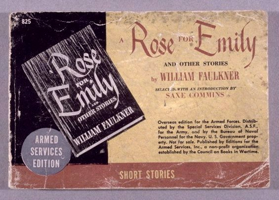 book cover for A Rose for Emily