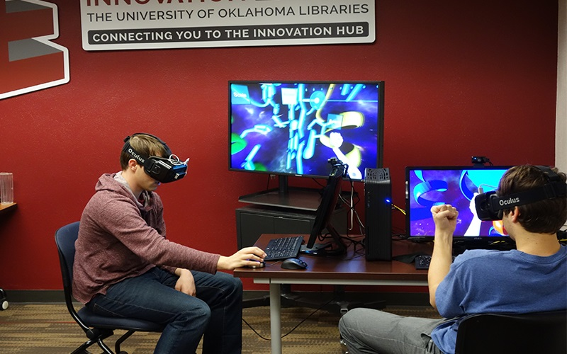 University of Oklahoma Expands Networked Virtual Reality Lab