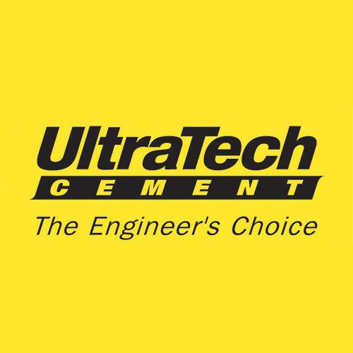 Logo of Ultratech Cement Limited and a client of Mailam Upking Engineering Limited