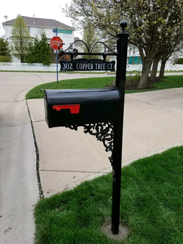 Iron Contractor, various address signs available