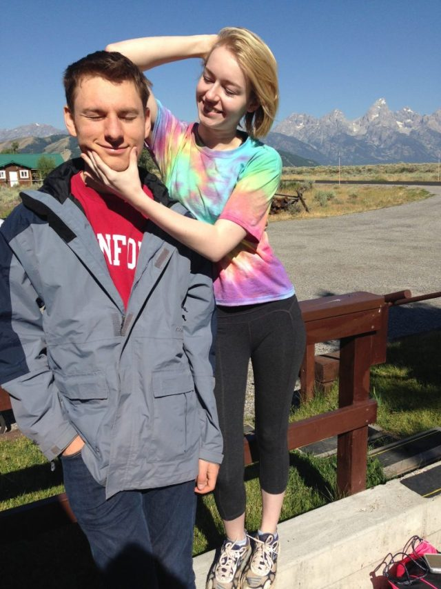 photobombed by the Grand Tetons