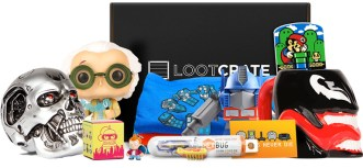 Loot crate subscription box ship international