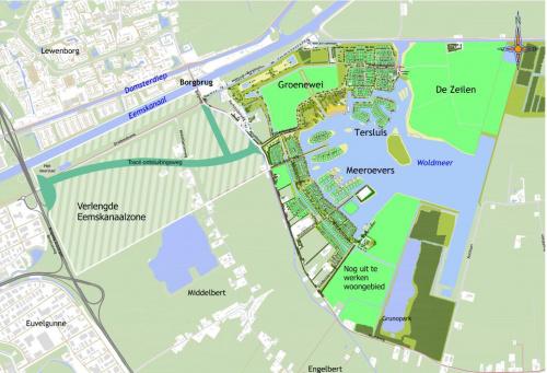 Meerstad krijgt betere verbinding met Groningen